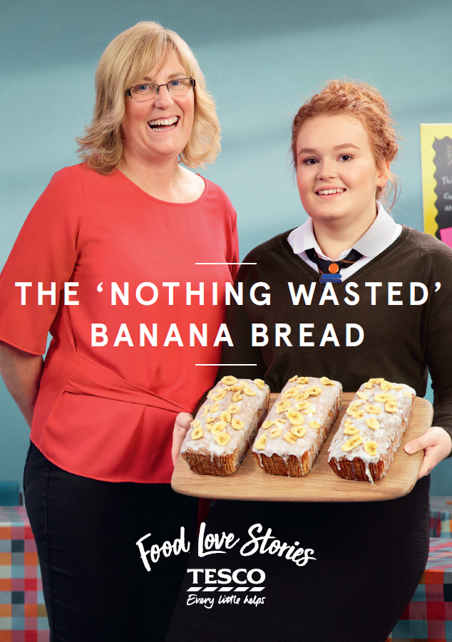 Nothing Wasted Banana Bread