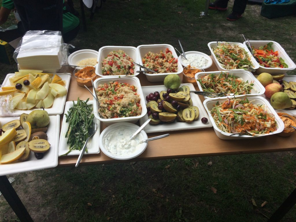 Fit and Fed food