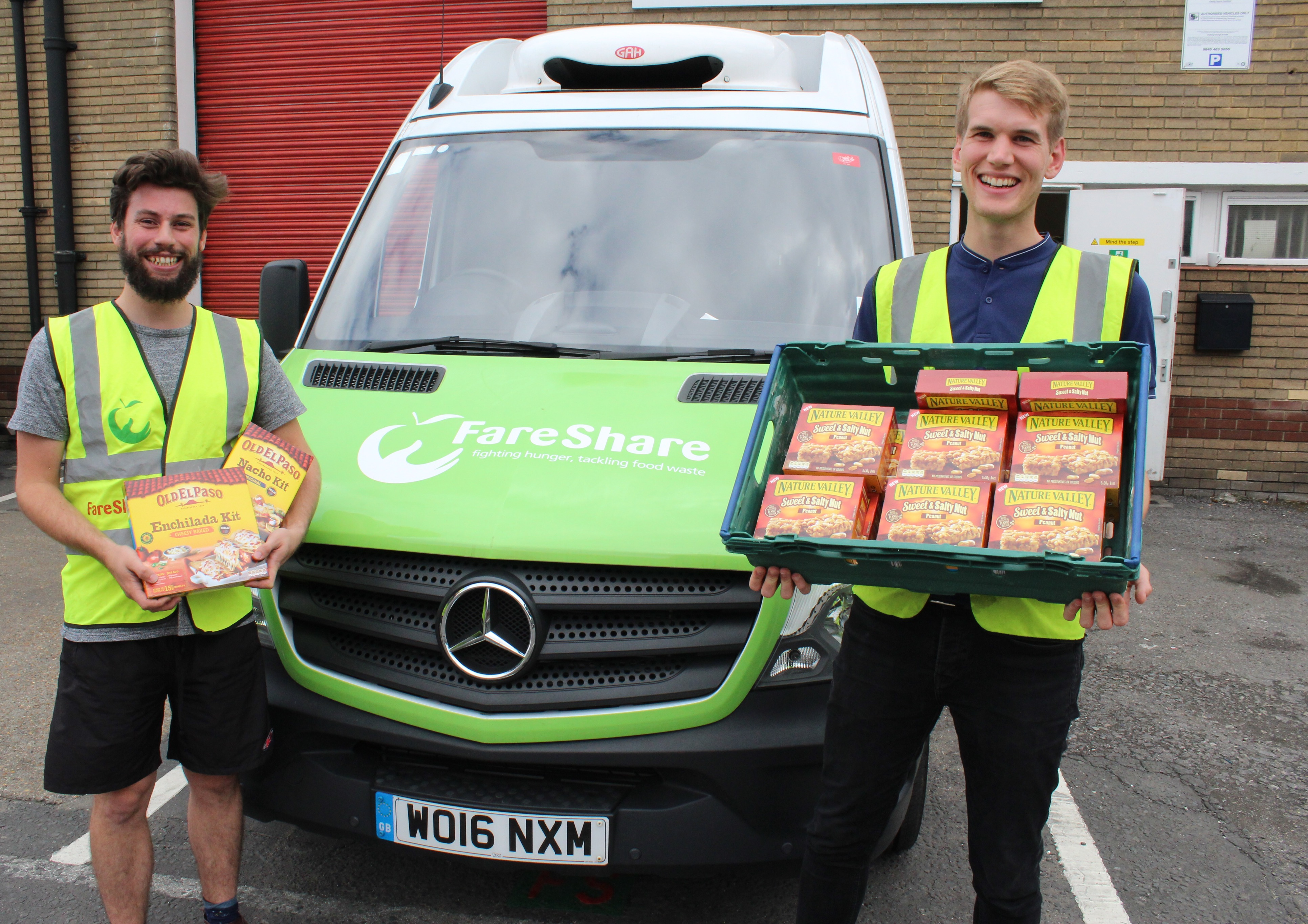 General Mills, first delivery, FareShare, East Anglia, Ipswitch